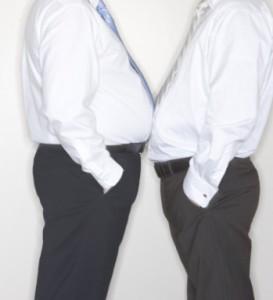 Männer mit Bauch